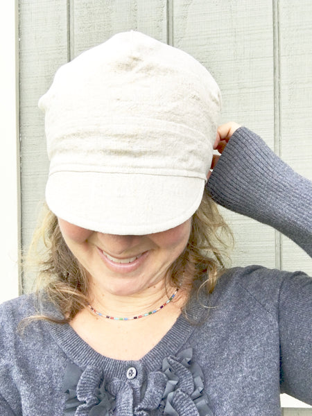 hunting newsboy hat for women
