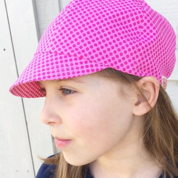 Girls Lightweight Cap, Summer Cap for Girls, Little Girls Chemo Hat