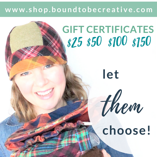 Bound to be Creative Gift Certificate