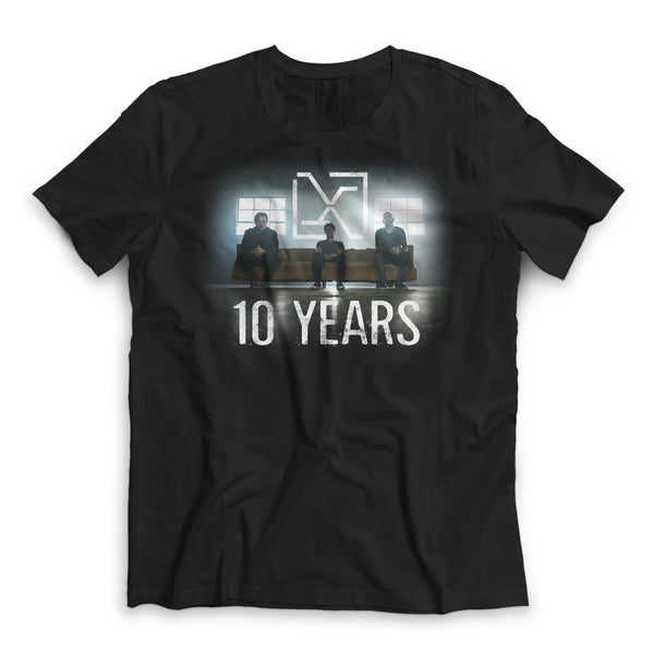 "10 Years ""Violent Allies"" Band Photo Shirt"