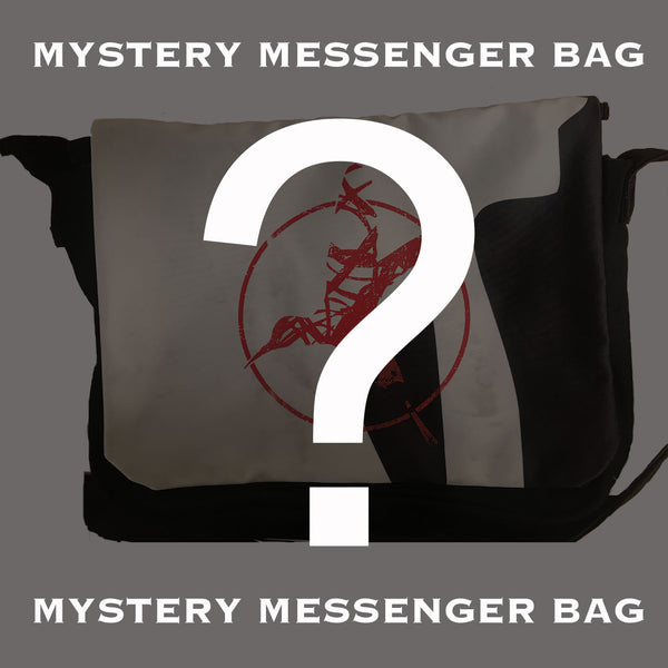 Mystery Messenger Bag (SIGNED)