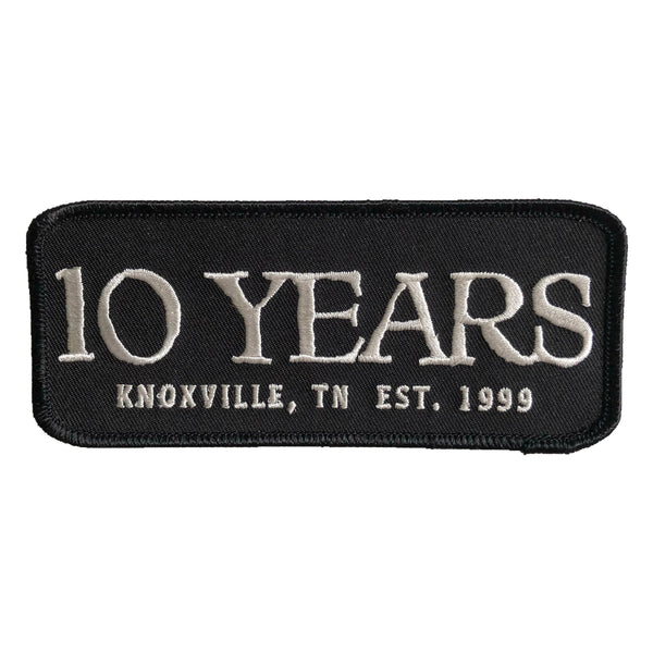 10 Years EST 1999 Patch