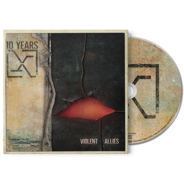 "*SIGNED* 10 Years ""Violent Allies"" CD 30% OFF"