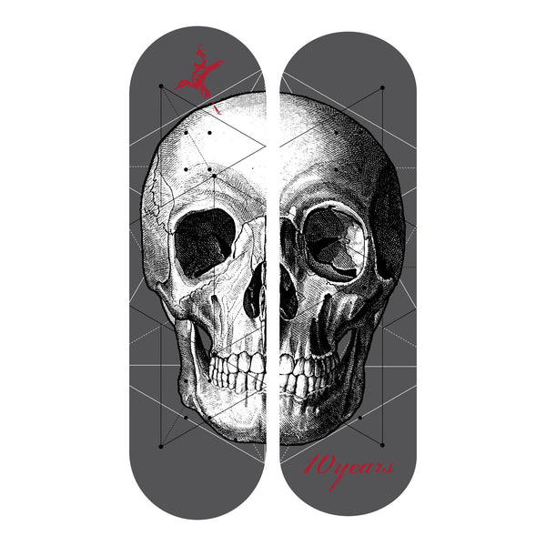 *SIGNED*  10 Years Skull Skate Decks