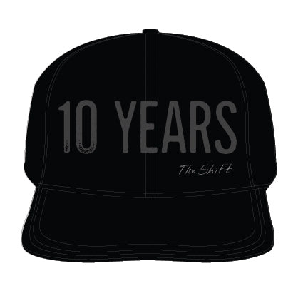 10 Years The Shift Hat