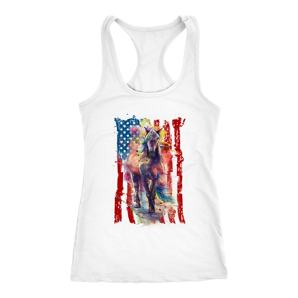 AMERICAN COWGIRL - Ladies Tank