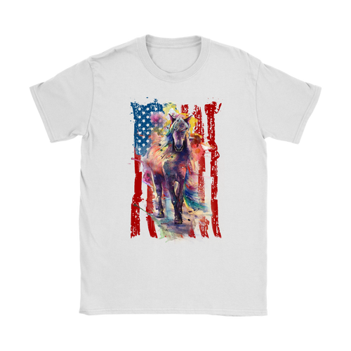 AMERICAN COWGIRL - LADIES T-Shirt