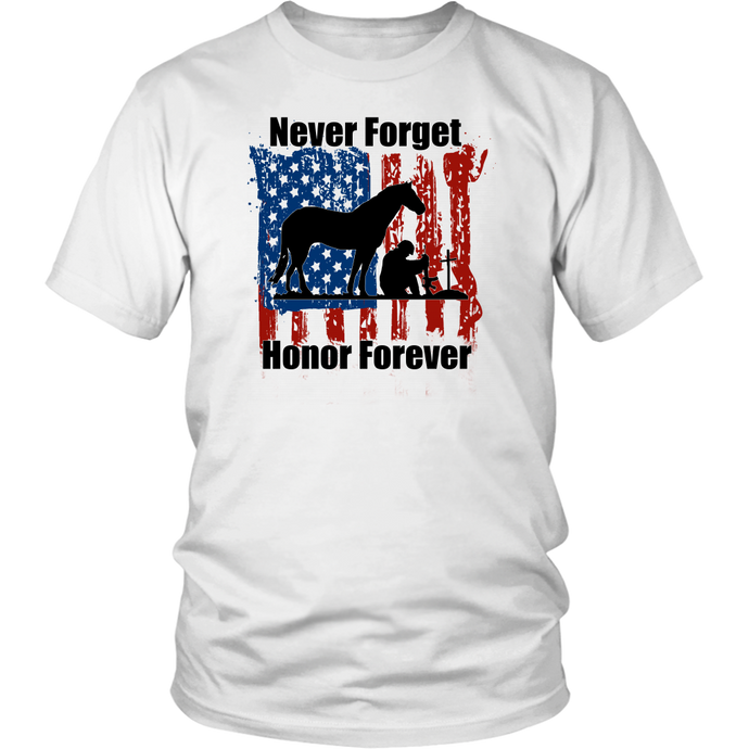 NEVER FORGET - HONOR FOREVER - T-SHIRT