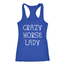 CRAZY HORSE LADY Ladies Tank