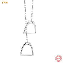 LIMITED EDITION - Sterling Silver Elegant Equestrian Necklace
