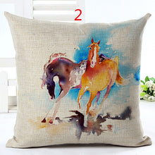 HANDMADE Gorgeous Horse Throw Pillow Cover