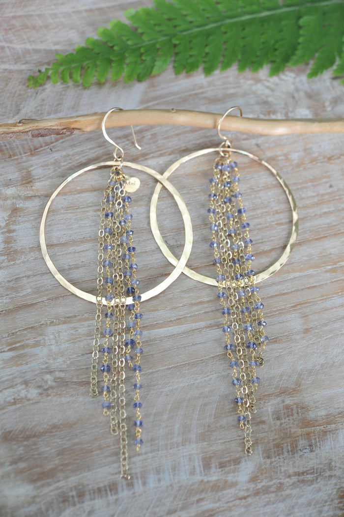 Luna Waterfall Hoops