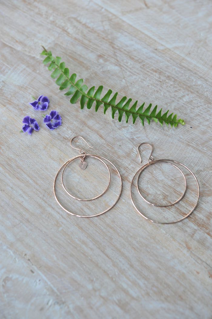 Signature Double Hoops