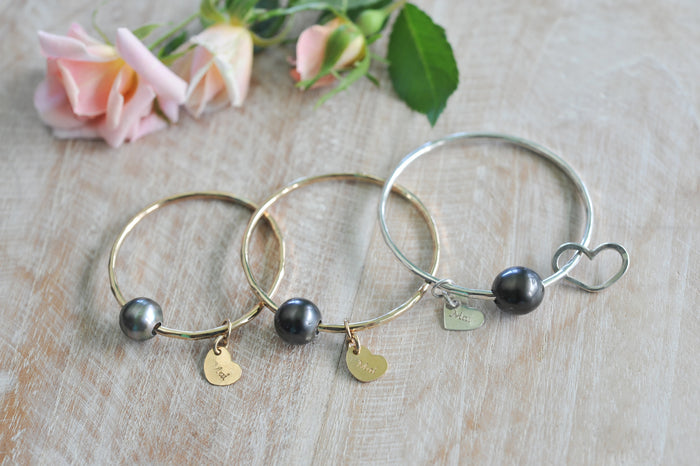 Mai Baby Love Tahitian Pearl Bangle