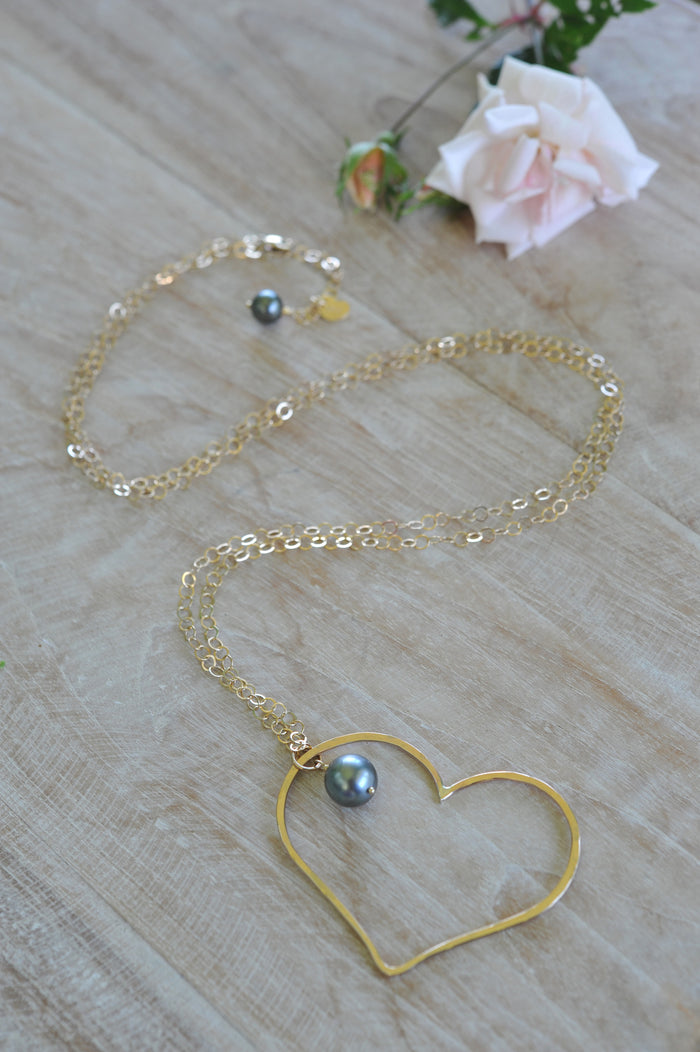 Tahitian Big Love Necklace