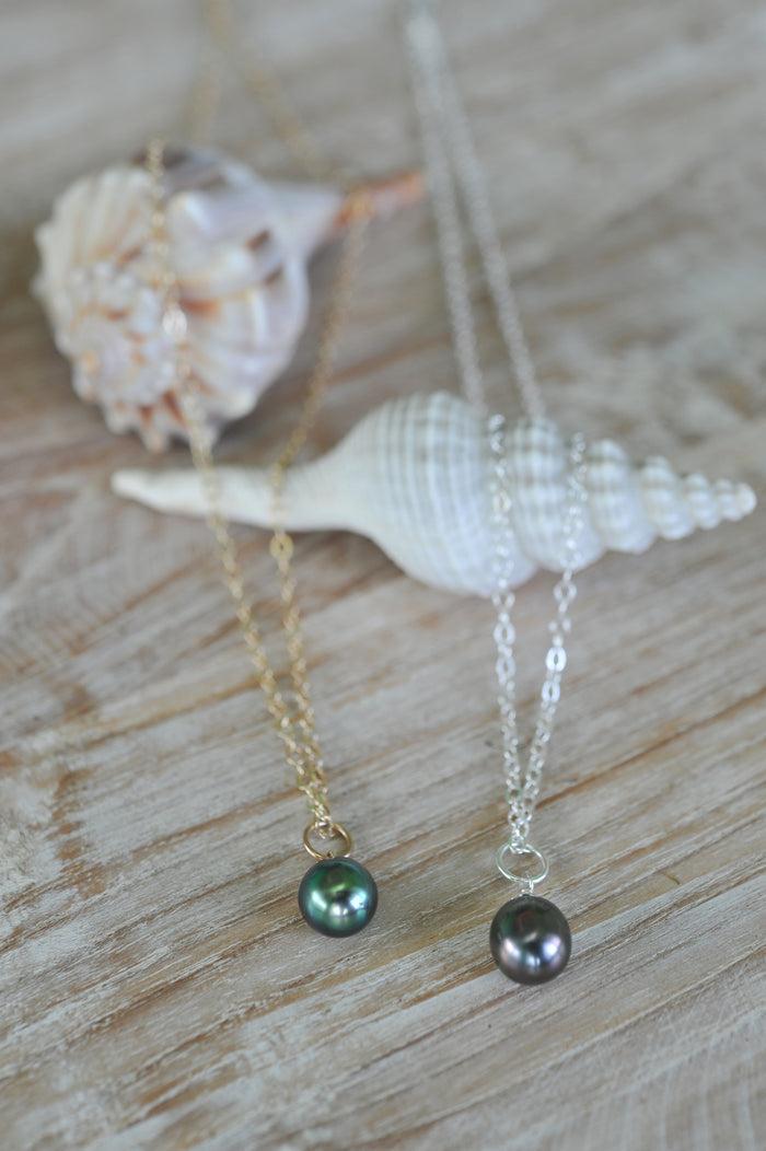 Tahitian Drop Necklace