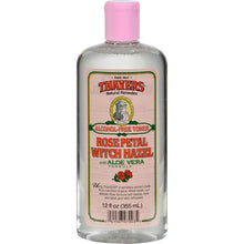 Thayers Alcohol-Free Witch Hazel with Aloe Vera - Rose Petal - 12 fl oz