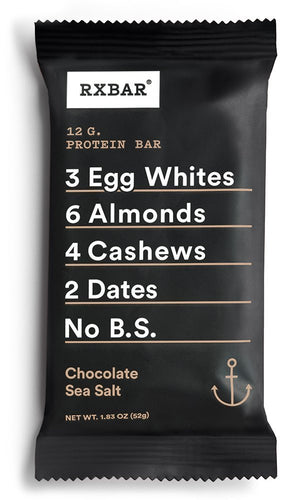 RxBar Bar - Protein - Chocolate Sea Salt - 1.83 oz - case of 12
