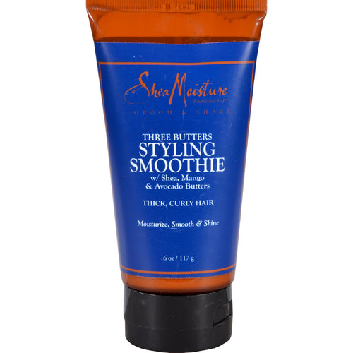 SheaMoisture Styling Smoothie - Three Butters - Men - 6 oz