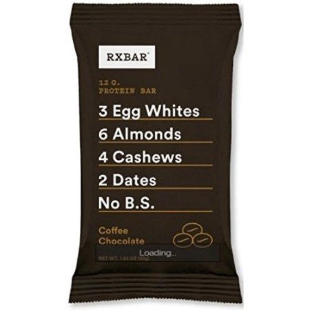 RxBar Bar - Protein - Coffee Chocolate - 1.83 oz - case of 12