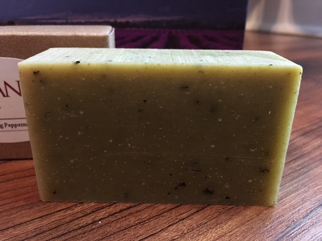Natural Organic Bar Soap - Soothing Peppermint - 4oz