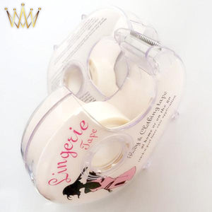 womens lingerie safe double sided adhesive lingerie tape body clothing clear bra waterproof strip