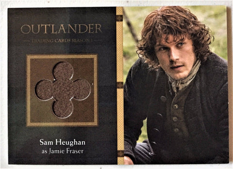 Cryptozoic Outlander Season 1 Wardrobe M26 - Sam Heughan as Jamie Fraser - The Collectible Trading Cards