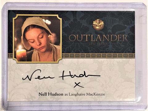 Outlander Season 2 Autograph Nell Hudson as Laoghaire MacKenzie Trading Card NH