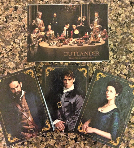 2017 Cryptozoic Season 2 Outlander Trading Cards: Master Base Set-99 Cards in Total!