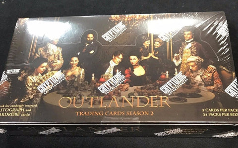 Outlander Season 2 Factory Sealed Trading Card BOX!!   HARD TO FIND!!