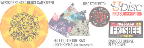 Disc Golf Monthly Subscription