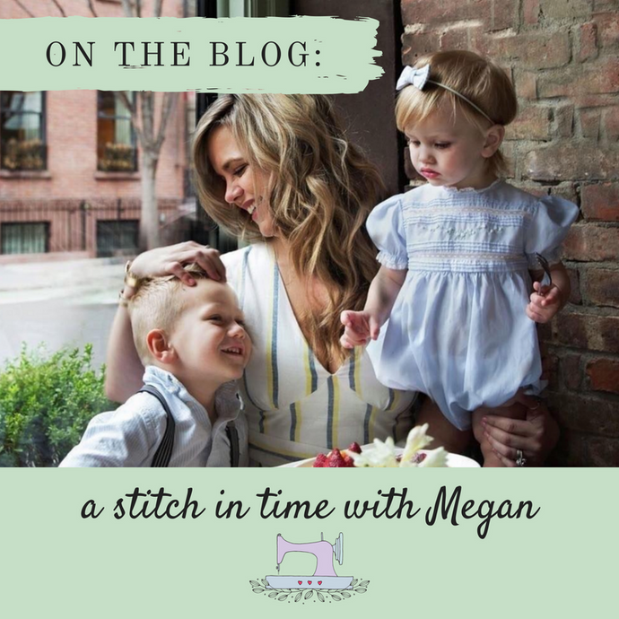 A Stitch in Time with Megan