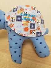 Birth Turtle Keepsake- Birth Blanket Stuffie- Baby Gift