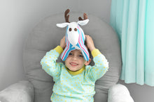 Birth Moose Keepsake - Stuffed Moose Toy - Baby Shower Gift