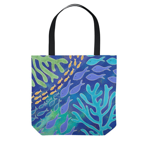 Under the Sea Beach Tote Bag
