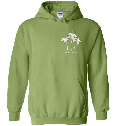 Snow Is A Four-Letter Word Beach Winter Hoodie