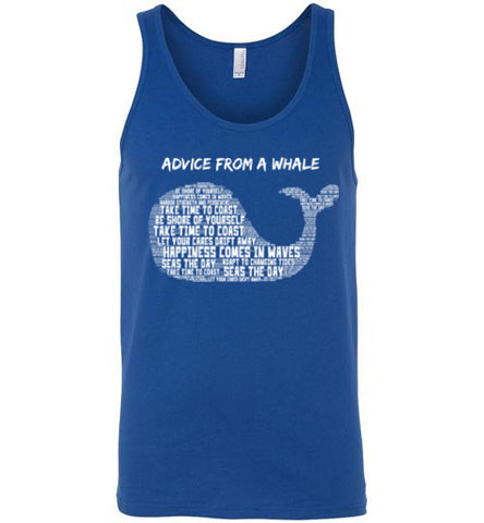 Advice from a Whale Tank Top