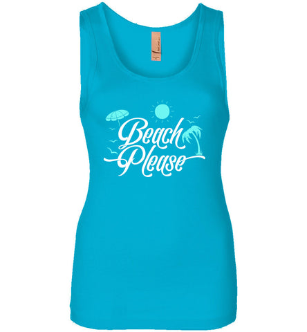 Beach Please Women's Tank Top