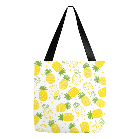 Pineapples Summer Beach Tote Bag