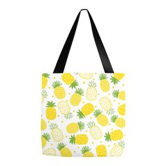 Pineapple Summer Beach Tote Bag