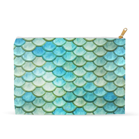 Mermaid Scales Accessory Pouch