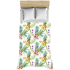 Image of Pineapples Tropical Flowers Duvet Covers