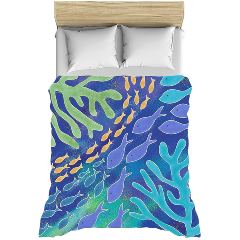 Under The Sea Beach Ocean Duvet Covers