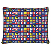 Image of Maritime Flags Nautical Ocean Dog Beds