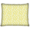 Image of Yellow Pineapple Pattern Dog Bed