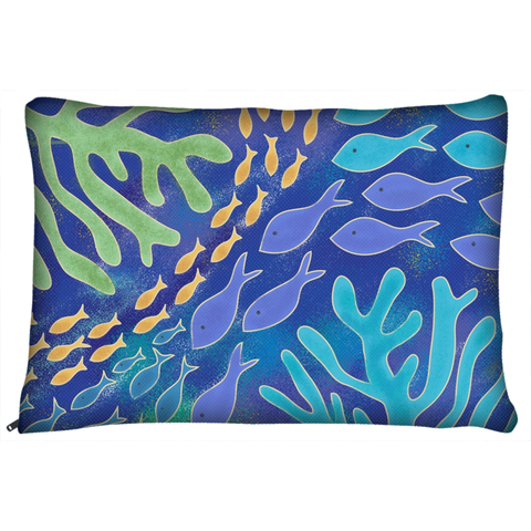 Ocean Fish Beach Dog Pet Bed