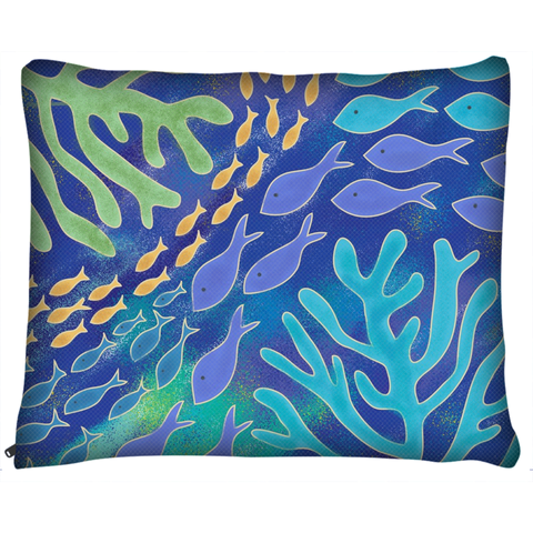 Under The Sea Ocean Dog Bed