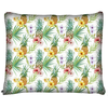 Image of Tropical Floral and Pineapple Dog Bed