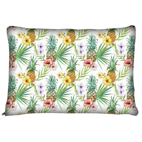 Tropical Pineapple Dog Pet Bed