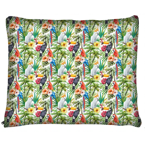 Tropical Paradise Dog Bed